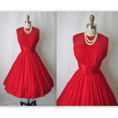 1950's cocktail dress.