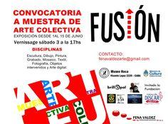 """Muestra de arte colectiva,""""ARTE FUSIÓN,CULTURA INCLUSIÓN"""""""