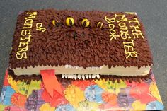 Monster Book of Monsters Cake | 24 Incredible Cakes Inspired By Books