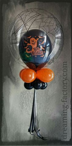 Halloween centre piece ballons decoration