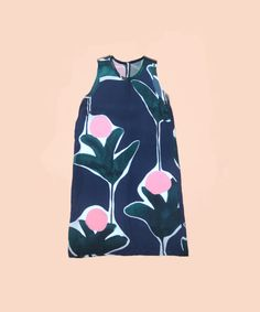 Tank Dress - Protea Print