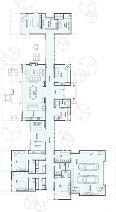 New house plans modern ranch square feet Ideas Ranch House Plans, New House Plans, Dream House Plans, Modern House Plans, House Floor Plans, The Plan, How To Plan, Story House, House 2