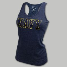 My Favorite Navy Women's Tank Top | ArmedForcesGear.com | Armed Forces Gear