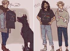 Boyfraaaaaans Sirius and Remus Harry Potter Ships, Harry Potter Marauders, Harry Potter Universal, The Marauders, Harry Potter Fan Art, Harry Potter World, Harry Potter Memes, Sirius Black, Remus And Sirius