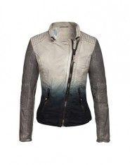 ceaaf9642d9a1a Proud Cotton Bikerjacket ´Japura´ beige grau