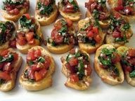 A tradition Italian appetizer for your next dinner party.