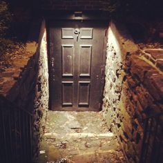 Basement of the haunted Farnsworth home in Gettysburg... Was very creepy!