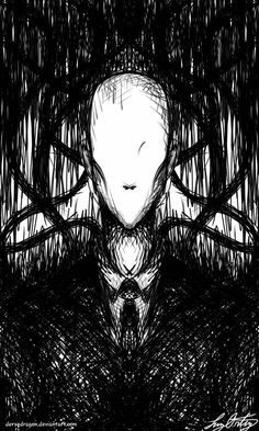 Gonna draw more creepy creepypasta to even out all the past cute cp deviations from before. Creepypasta Slenderman, Creepypasta Characters, Creepy Drawings, Dark Art Drawings, Spooky Scary, Creepy Art, Arte Horror, Horror Art, Horror Drawing