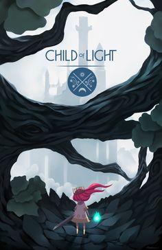 Child of Light - Leave Your Castle by Rousteinire on  DeviantArt  Key: Ubisoft, Forest, Castle, Game Art, Concept Art, Environment, Path, Journey, Fanart, Companion, Friend, Alone, Aurora, Tale, Travel, Home