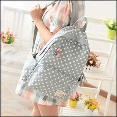Black School Bags, High School Bags, Cute School Bags, Stylish Backpacks, Cute Backpacks, Girl Backpacks, School Backpacks, Lace Backpack, Canvas Backpack