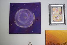 DIY Wall Art - Kreis in Acryl
