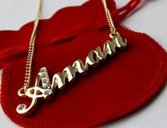 Baby Names Cool Friends Ideas Alphabet Names, Alphabet Letters Design, Gold Name Necklace, Initial Necklace, Pakistani Bridal Hairstyles, Name Pictures, Name Wallpaper, India For Kids, Monogram Jewelry