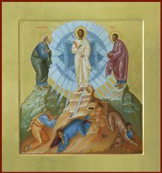 Byzantine Icons, Byzantine Art, Mary Magdalene And Jesus, The Transfiguration, Religious Icons, Catholic Art, Orthodox Icons, Sacred Art, Christian Art