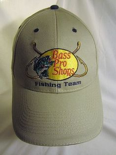 9fe72ba0d08 Bass Pro Shops Ball Cap Fishing Team Hat Great Outdoors Pass It On  Embroidered  BassProShops