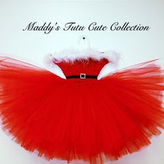 Santa Baby Christmas Tutu Dress Only size- 2T-4T/5T on Etsy, $36.00 OMG AYDEN WOULD LOOK ADORABLE IN THIS!!