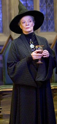 "Maggie Smith, Professor Minerva McGonagall, ""Harry Potter"" series, 2001-2011"