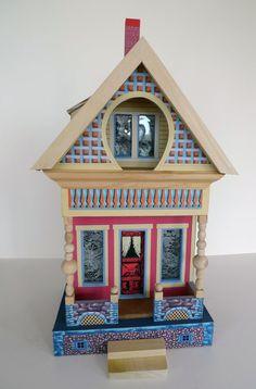 Victorian Dollhouse  Bliss keyhole dollhouse by fortstar ......Rick Maccione-Dollhouse Builder www.dollhousemansions.com