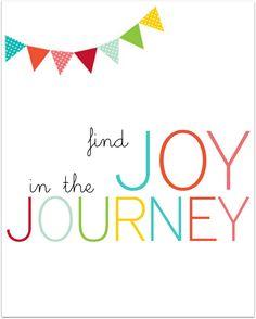 Joy...