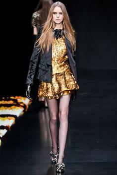 Roberto Cavalli Fall 2012 Ready-to-Wear Fashion Show - Magda Laguinge