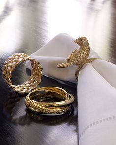 Napkin+Rings+by+L\'Objet+at+Neiman+Marcus.
