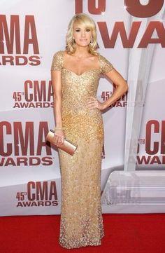 Carrie Underwood in Reem Acra | CMA Awards 2011