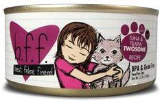 Weruva Cat Food - BFF Tuna & Tilapia Twosome Recipe (In Aspic)