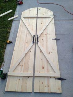 Walls Under Construction: Barn Doors