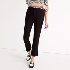 Cali Demi-Boot Pants : pants & shorts | Madewell