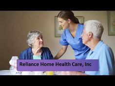 Any person who cannot cope themselves at home because of age, disease or disability can get help at Reliance Home Health Care.https://goo.gl/uvxO0K #In_Home_Care_Services #At_Home_Health_Care_Services