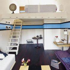 Studio Apartment Interior Design Located In Brazil