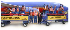 Bags Fly Free / Southwest AIrlines