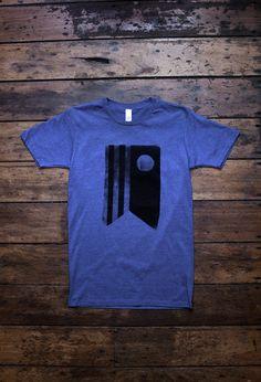 FLAG - ocean marle screen printed t-shirt - mens