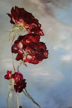 I would like to share with you a 'new to me' artist, French artist, Claire Basler. She was born on September 30, 1960 in Vincennes, France. Claire lives and paints in her home Châtea…