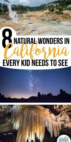Amazing Natural Wonders in California Every Kid Needs to See Planning a California vacation? Here are 8 natural wonders that are amazing and need to be seen!Planning a California vacation? Here are 8 natural wonders that are amazing and need to be seen! Spring Break Destinations, California Destinations, California Vacation, Vacation Destinations, Vacation Spots, Vacation Ideas, Vacation Packages, California Camping, Greece Vacation