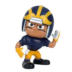 Michigan Wolverines NCAA Lil Teammates Vinyl Wide Receiver Sports Figure