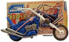 1975 Evel Knievel Stunt Chopper