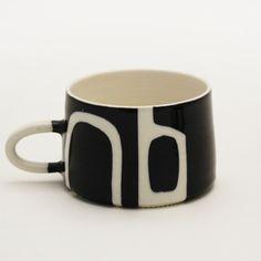 *NEW! Black + White Mug