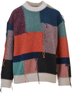 Stella McCartney Patchwork Sweater. Jumper sweater fashions. I'm an affiliate marketer. When you click on a link or buy from the retailer, I earn a commission.