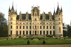 Chateau Challain is in the Loire Valley. Bought wine and visited castle after castle in the Loire Valley.