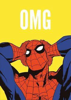 Spider man marvel wallpaper iphone 6 - Visit to grab an amazing super hero shirt now on sale! Comic Books Art, Comic Art, Book Art, Fatale Overwatch, Marvel Wallpaper, Iphone Wallpaper, Deadpool Wallpaper, Comics Illustration, Amazing Spiderman
