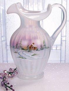 fenton pitchers | Fenton Art Glass Pitchers - www.collectiblesrome.com