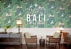 FAB GUIDE!! The Urchin Collective: The Urchin Collective's Guide to Bali | Part 2 Dining in Seminyak