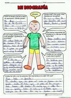 Terminación de trabajos-4 Spanish Grammar, Spanish Language, Spanish Classroom Decor, Spanish Projects, Ap Literature, Third Grade Reading, Dual Language, Teaching Resources, Activities