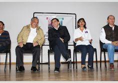 Realizan gobernador y alcalde entrega de cheques del programa Empleo temporal