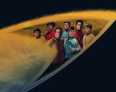 Star Trek TOS Crew by ~TheAngryAngel on deviantART