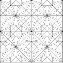 2d repeating carving pattern