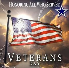 The Dallas Cowboys n their fans wish to thank all Veterans past n present for their service, n honoring those who gave their lives while serving; for our freedom. THANK YOU!!!