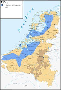 Verspreiding van de beeldenstorm in de Nederlanden