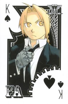 Playing Cards and Comics: Fullmetal Alchemist Playing Cards Edward Elric, M Anime, I Love Anime, Anime Art, Full Metal Alchemist Manga, 鋼の錬金術師 Fullmetal Alchemist, Roy Mustang, Culture Pop, Animation