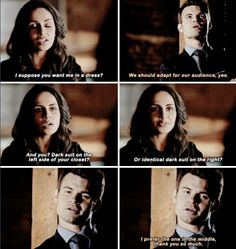 """#TheOriginals 2x15 """"They All Asked for You"""" - Elijah and Gia"""
